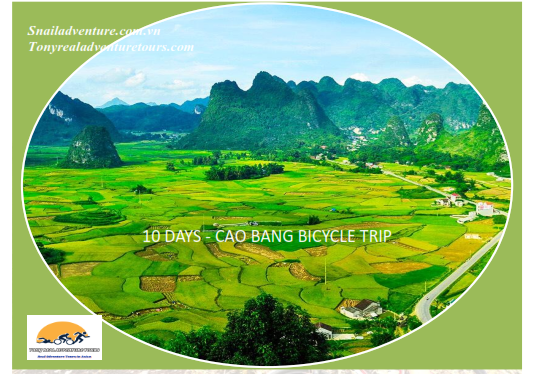 10 DAYS CAO BANG BICYCLE TRIP