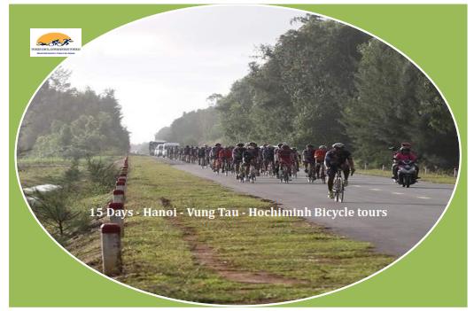 15 DAYS - HA NOI - VUNG TAU CYCLING HOLIDAY