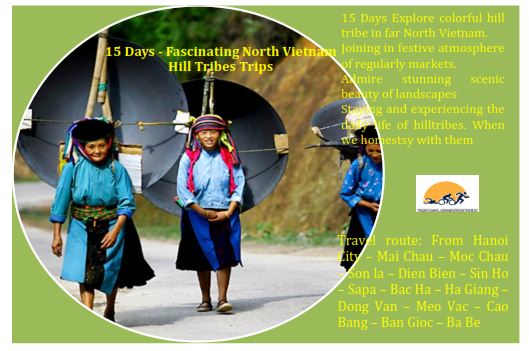 15 DAYS – VIETNAM HILL TRIBES EXPEDITION  TOURS