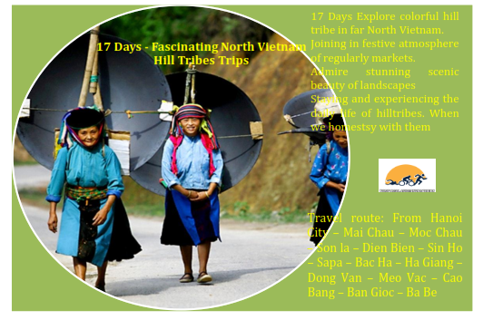 17 DAYS VIETNAM  AMAZING HILL TRIBE TRIP