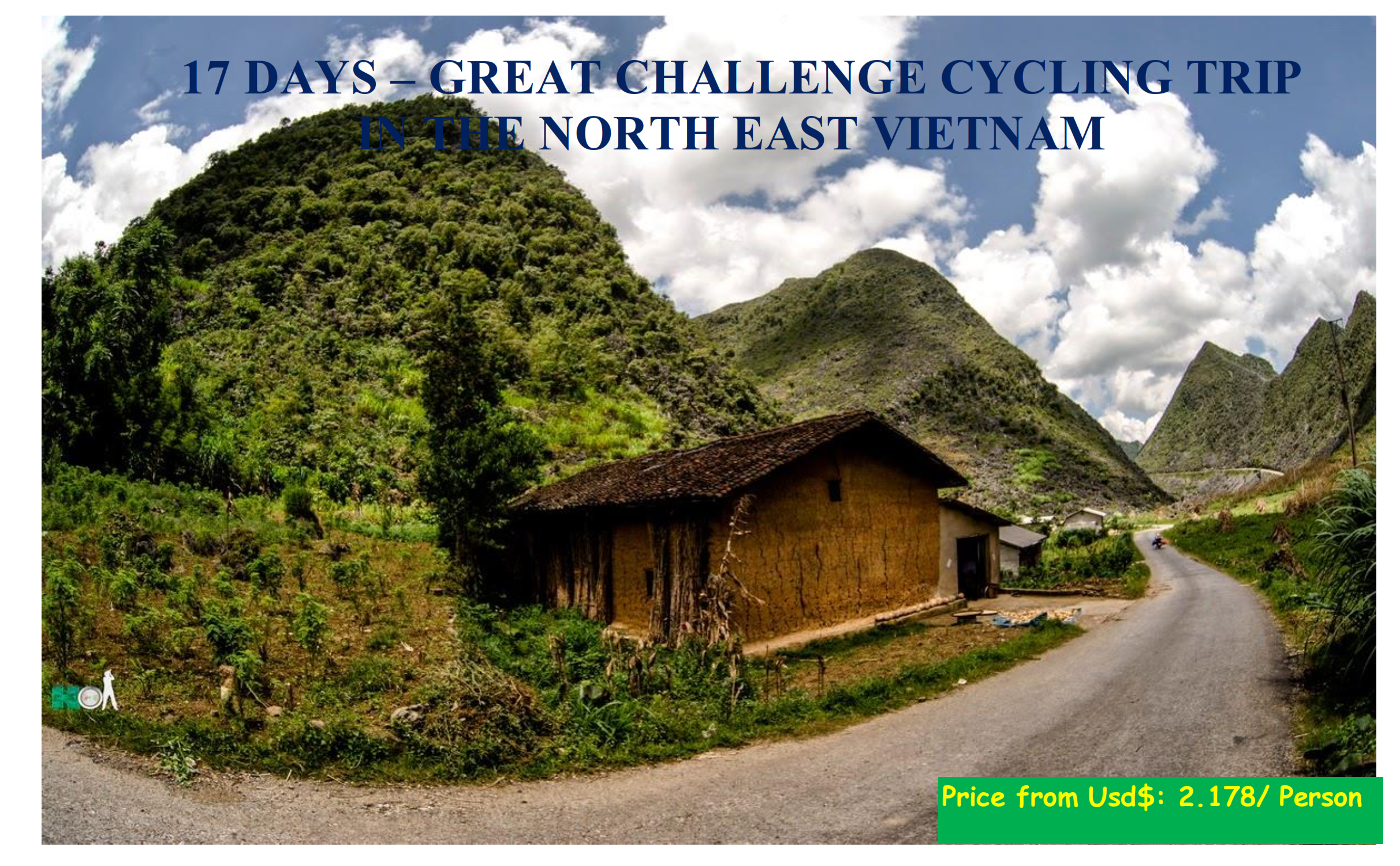 17 DAYS – GREAT CHALLENGE CYCLING TRIP  IN THE NORTH EAST VIETNAM