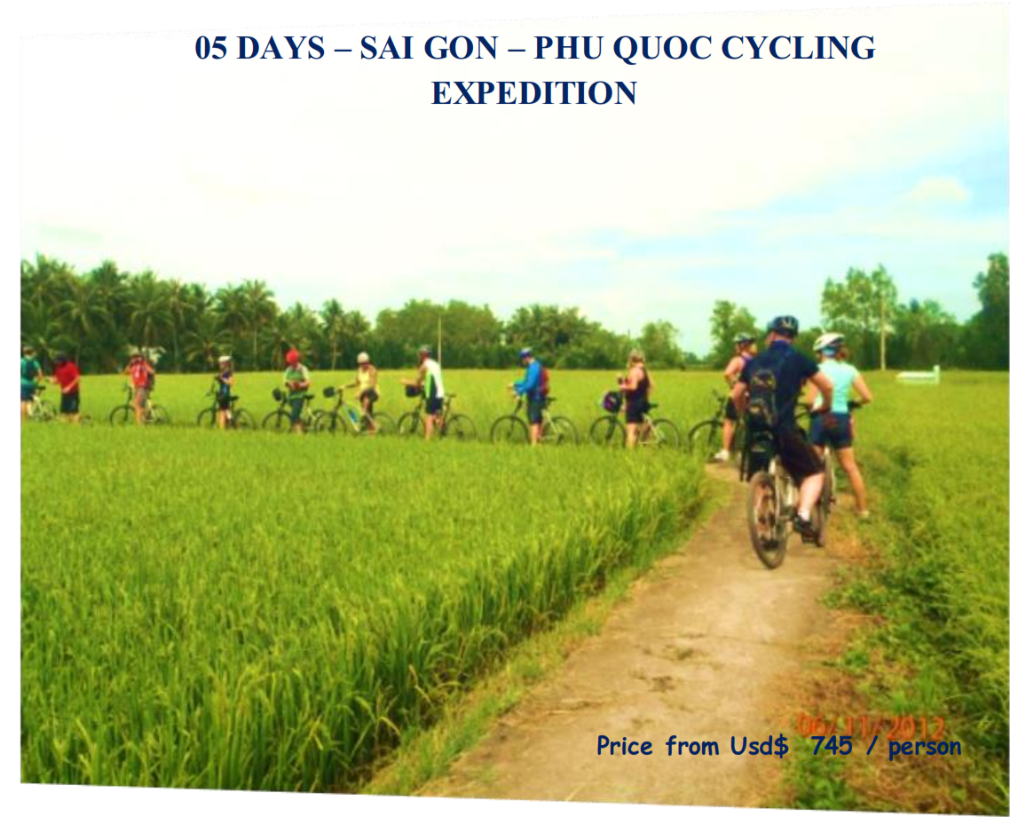 05 DAYS – SAI GON – PHU QUOC CYCLING EXPEDITION