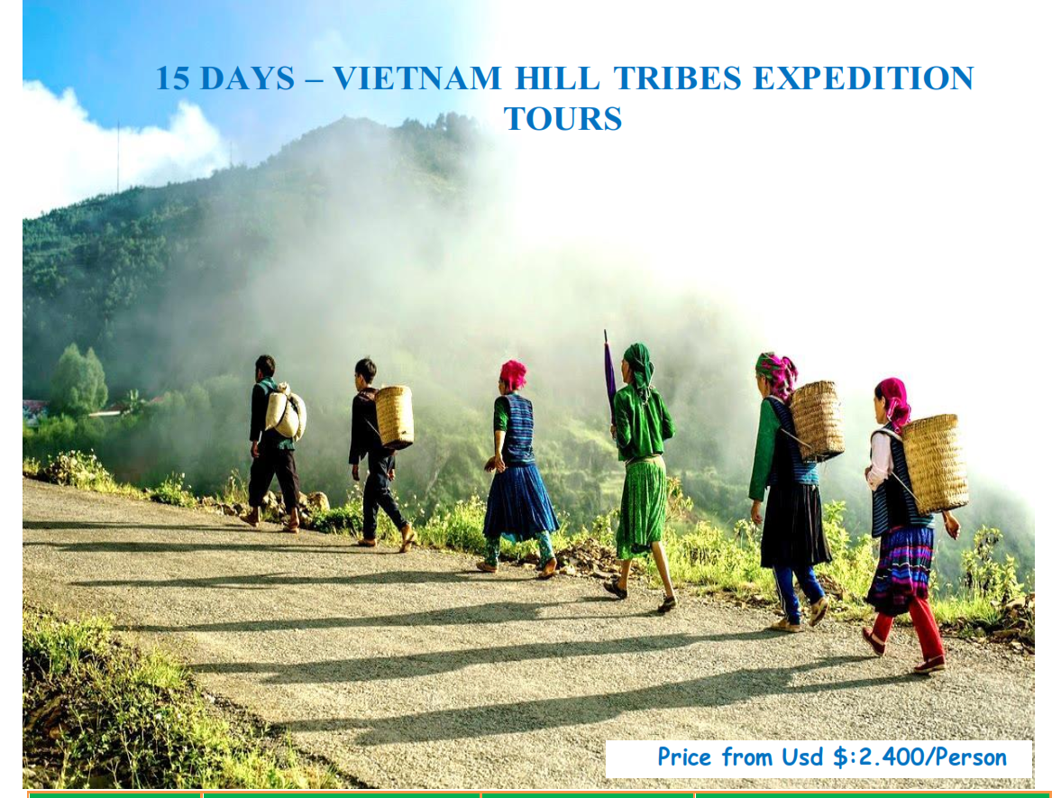 17 DAYS VIETNAM HILL TRIBE TRIP - PHOTOGRAPHY TOUR