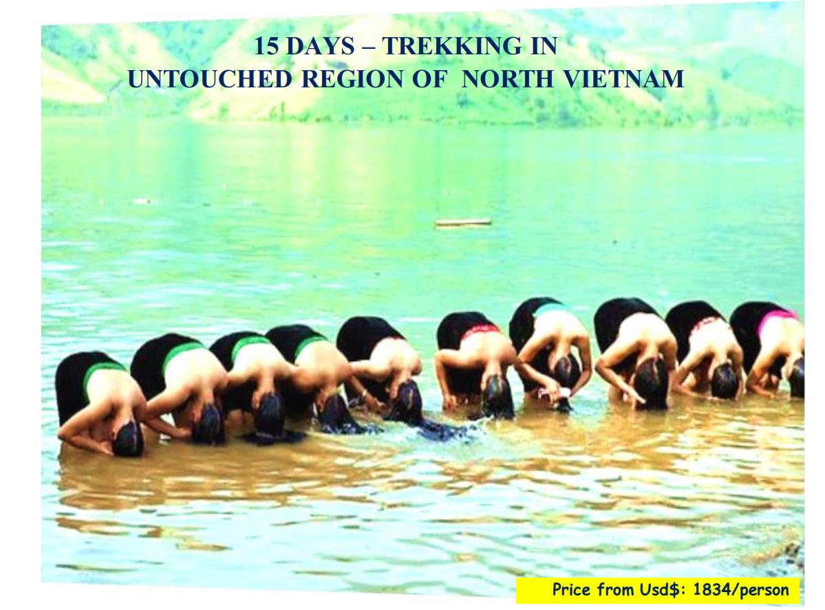 15 DAYS – TREKKING IN UNTOUCHED REGION OF  NORTH VIETNAM