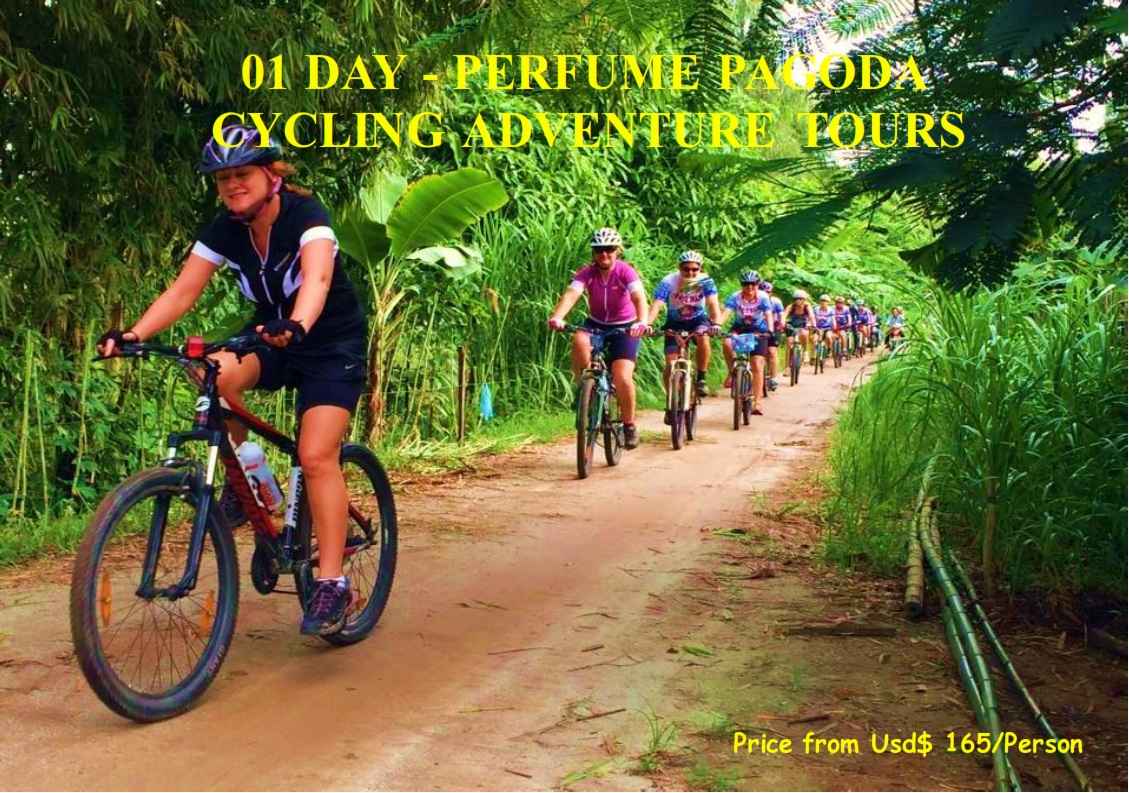 01 DAY - PERFUME PAGODA CYCLING ADVENTURE TOURS