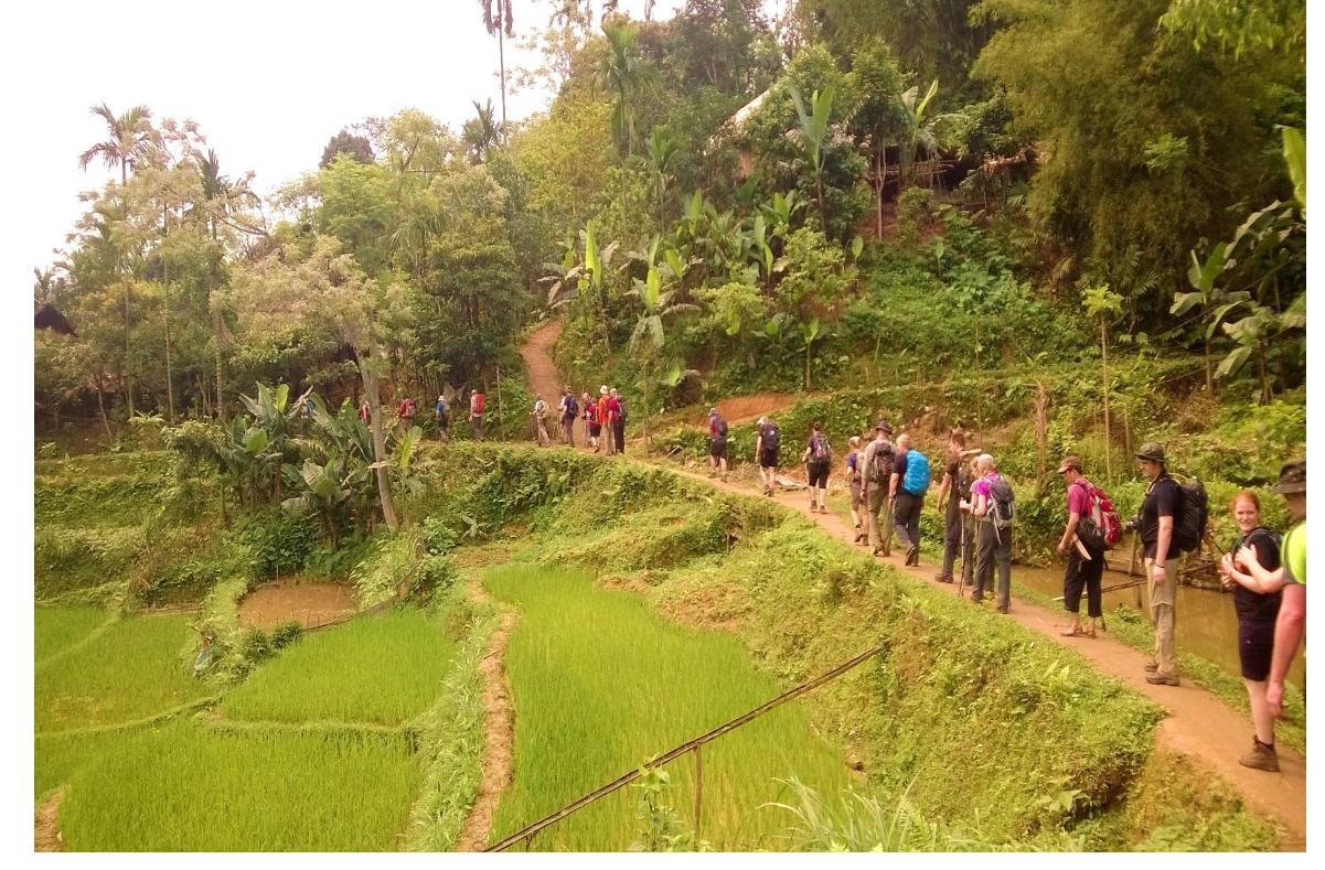 09 DAYS TREKKING IN MAI CHAU – PHU LUONG  NATURE RESERVE