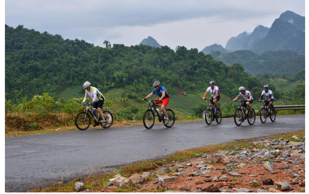 15 DAYS CYCLING EXPEDITION FROM LUANG PRABANG  CHIANG MAI.