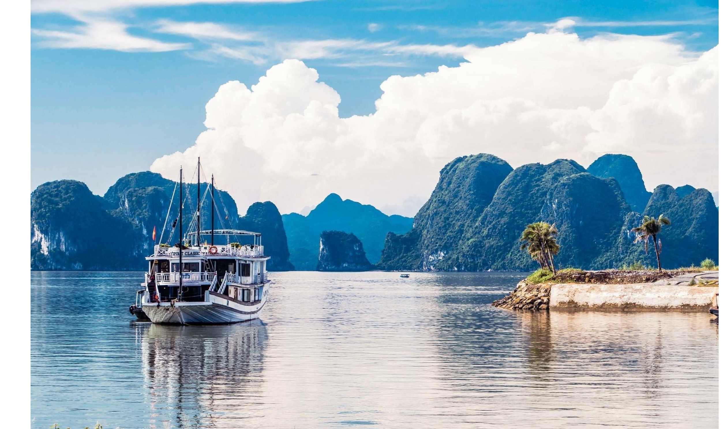 08 DAYS  HALONG – BAI TU LONG CYCLING & KAYAKING TOURS