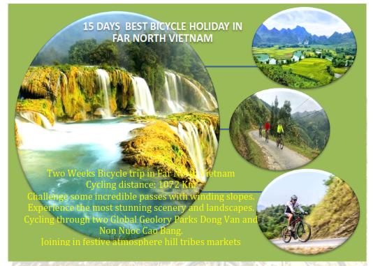 15 DAYS VIETNAM  MAGICAL NORTHVEAST BICYCLE TRIP