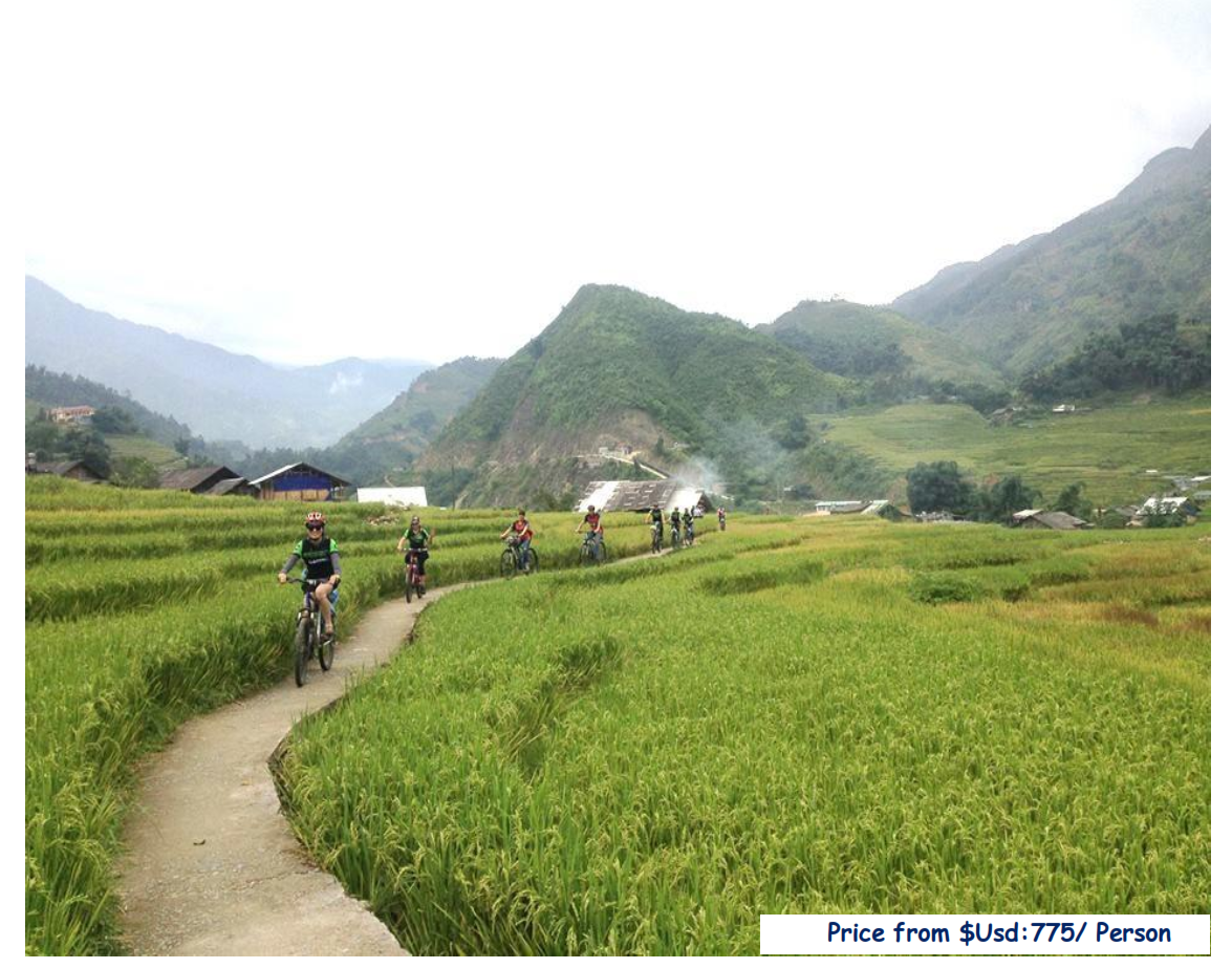 5 DAYS – EXPLORE SAPA HILL TRIBE BY RIDE