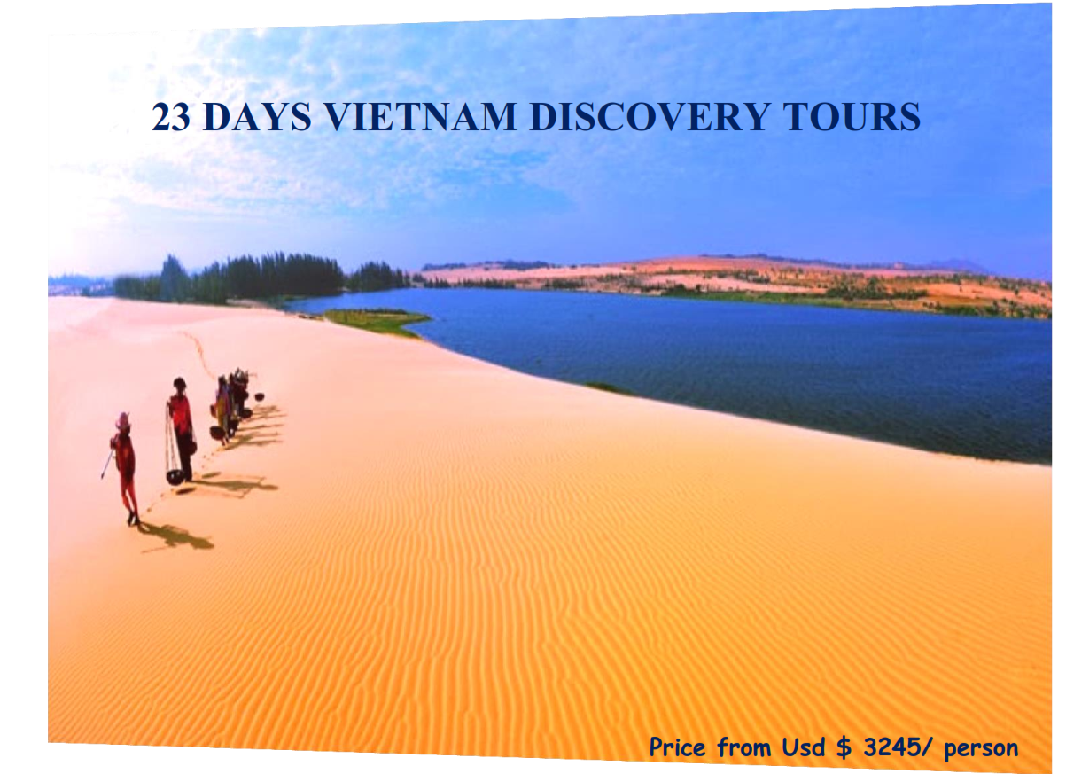 23 DAYS VIETNAM DISCOVERY TOURS