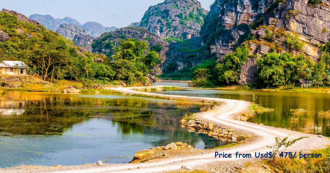 03 DAYS – CYCLING IN CUC PHUONG – TAM COC- TRANG AN