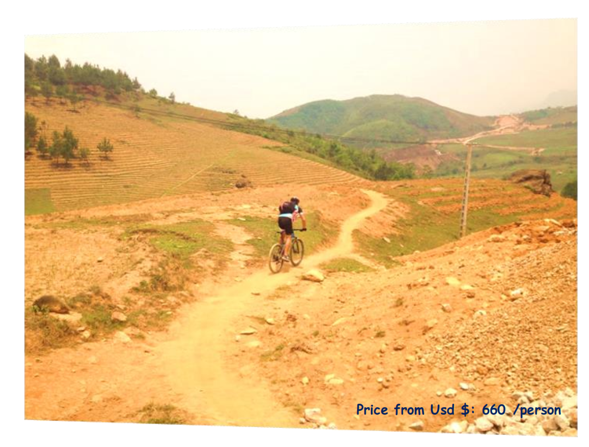 5 DAYS BAC HA CYCLING ON TRACK TRAIL & VISIT HILL TRIBE MARKETS