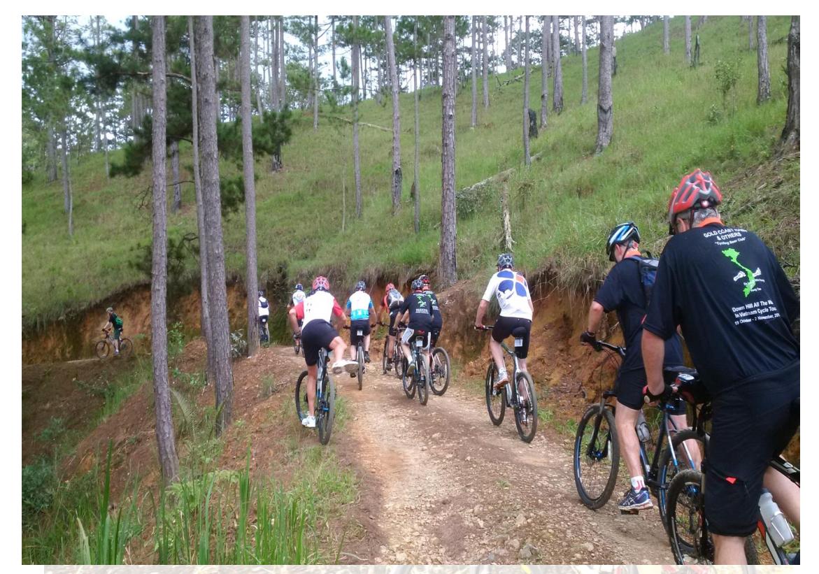 15 DAYS –VIETNAM CYCLING TOURS FROM HOI AN -  DALAT – HOCHIMINH CITY