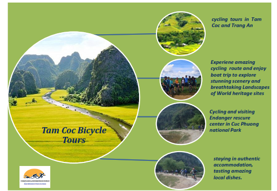 02 DAYS CYCLING IN TAM COC – TRANG AN  WORLD HERITAGE SITE