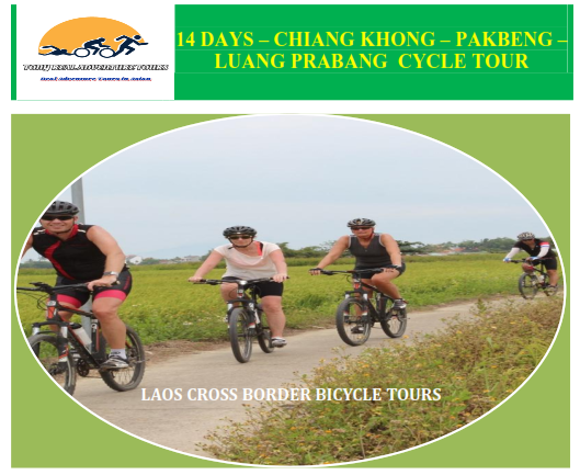 14 DAYS – AMAZING LAOS CYCLING TRIP FROM CHIENG KHONG – VIENTIANE