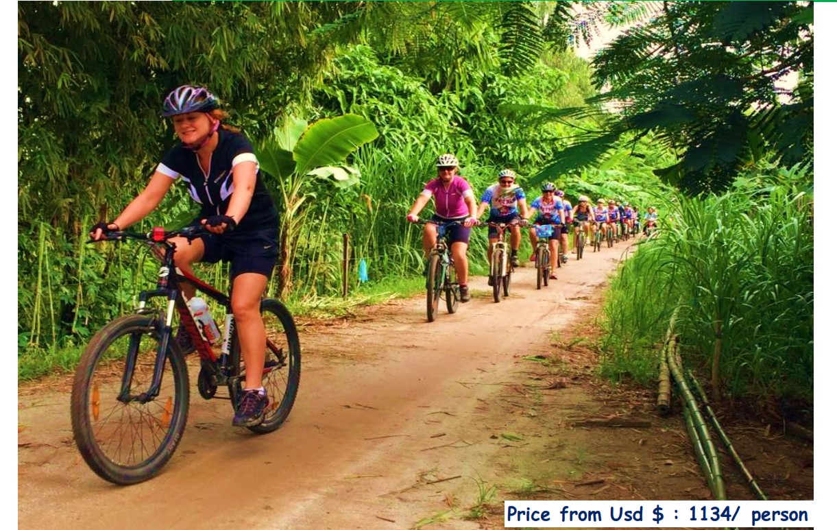 07 DAYS – MEKONG DELTA CYCLING TOURS:
