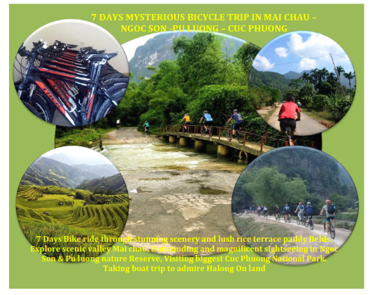 07 DAYS – AMAZING CYCLING EXPERIENCE IN NATURE RESERVES