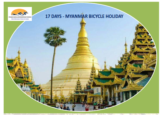 17 DAYS - SPECTACULAR BICYCLE HOLIDAY IN MYANMAR