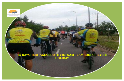 15 DAYS – CYCLING FROM  HUE – SIEM REAP VIETNAM – CAMBODIA CYCLING TOURS