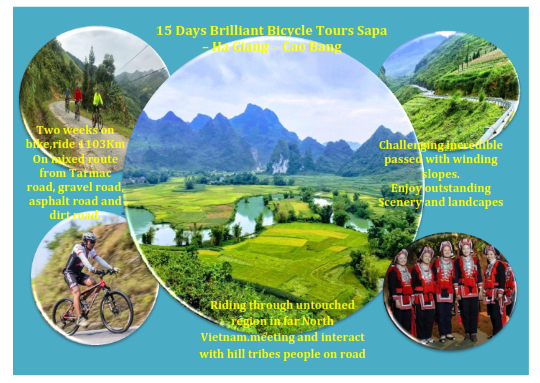 15 DAYS – EXPLORING  SAPA – BAC HA – HA  GIANG BY RIDE