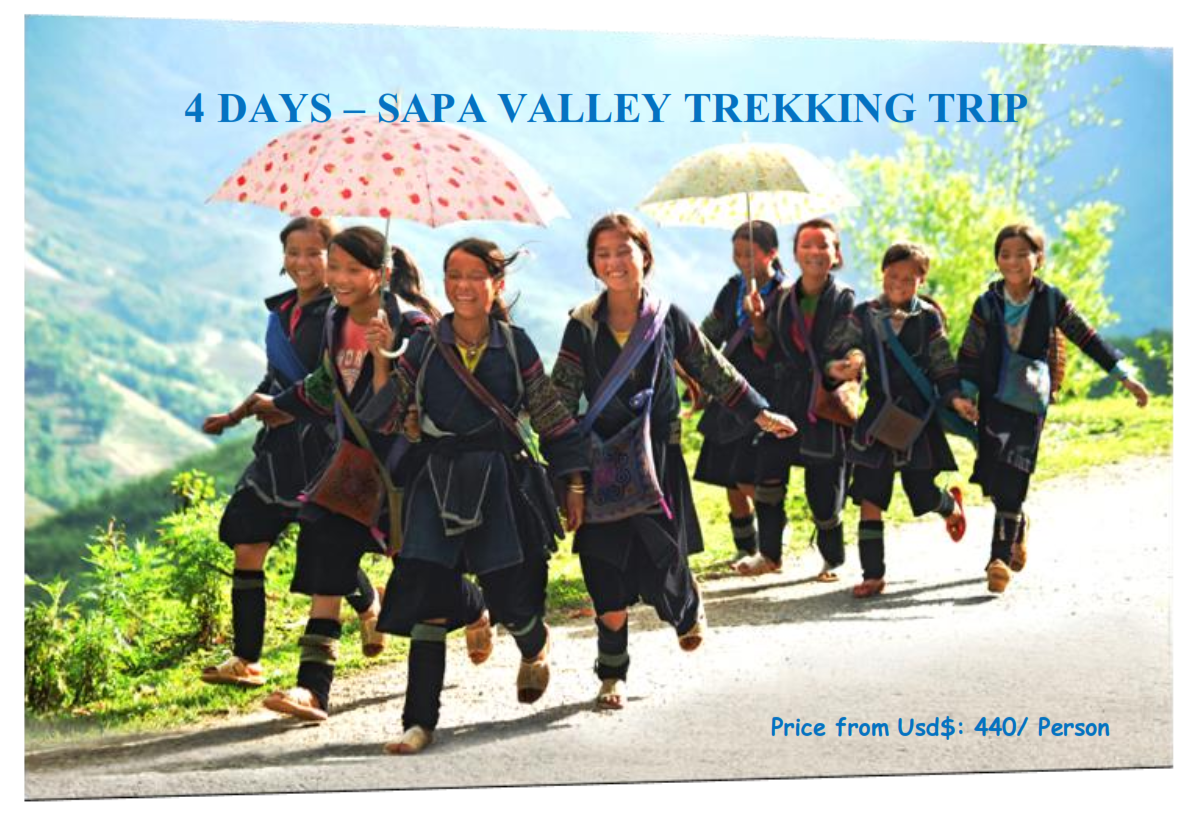 4 DAYS – SAPA VALLEY TREKKING TRIP